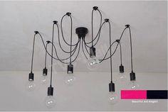 10 огни потолочный светильник металлический подвесной светильник висит Light -3