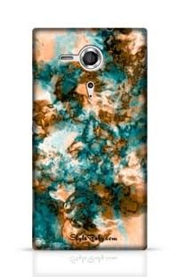 Colored Marble Sony Xperia SP Phone Case
