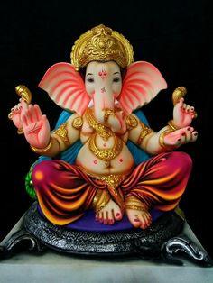 Clay Ganesha, Ganesha Art, Ganesh Lord, Shri Ganesh, Ganesha Pictures, Ganesh Images, Ganpati Photo Hd, Cool Backgrounds Wallpapers, Wallpaper Quotes