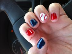 Baseball nails !!! For the Twins game!
