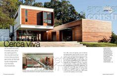 Projeto da Casa Haack na Revista Arquitetura e Construção