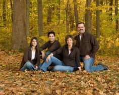 Portrait Pose.  Family of 4  20. Posing The Family of Four