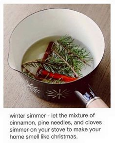 ~ 6 ways to make your home smell like Christmas.DIY Christmas Scents - Homemade Potpourri and Scented Decor - Home Decorating Diy Ideas Noel Christmas, Merry Little Christmas, All Things Christmas, Winter Christmas, Christmas Crafts, Christmas Decorations, Xmas, Christmas Scents, Holiday Decorating