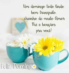 Bom dia e que tenham um ótimo domingo! ✌☕