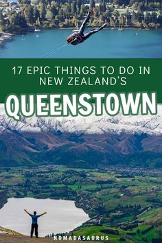 You do NOT want to miss all these epic things to do in Queenstown, New Zealand! Relead this guide and get ready to have the adventure of a lifetime. Road Trip New Zealand, New Zealand Itinerary, New Zealand Travel, Coast Australia, Australia Travel, Stuff To Do, Things To Do, Wellington New Zealand, Queenstown New Zealand