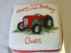 Image result for 70 year old birthday tractor cake ideas