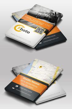 Web developer business card web developer business card this photographer business card creative business card templates wajeb Images
