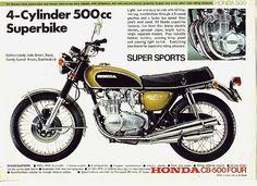 Honda CB500 Ad | Flickr - Photo Sharing!