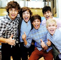 """One time someone tried to make me sad so they said,"""" hey, what direction do 5 gay guys walk?""""  And I was like,"""" One Direction!!!! Ahahaha. That's a good one!"""" They walked away genuinely confused."""