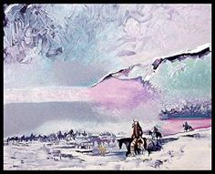 War Shields Winter Vision by Earl Biss