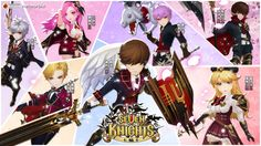 《七騎士 seven knights #44》今天更新完成囉,新的特殊副本 - 強化結晶(強化同星級角色1級),新角色 - 奢婆郎,星期四攻城戰...