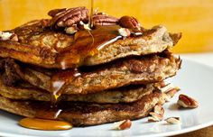 NYT Cooking: Maple Pecan Pancakes
