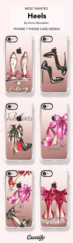 Most wanted Heels iPhone 7 and iPhone 7 Plus case. Shop them all here > https://www.casetify.com/artworks/cOfPNfw3Qp