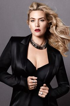 See the stunning, bombshell photos of Kate Winslet taken for Harper's Bazaar June/July 2014 by Daniel Jackson. Hottest Female Celebrities, Hollywood Celebrities, Beautiful Celebrities, Hollywood Actresses, Most Beautiful Women, Celebs, British Celebrities, Stunningly Beautiful, Kate Winslet