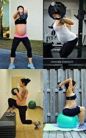 Si quieres ponerte en forma estando embarazada, este es el momento. Aquí tienes los mejores ejercicios fitness para embarazadas►