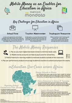 Mobile money as an enabler for education in Africa {Mondato}