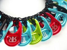 Energy Drink Lover's Necklace # 2 by Pop Top Lady, via Flickr
