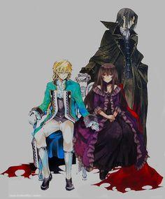 Jack, Lacie, and Glen (Mochizuki Jun)