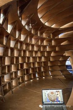 Cardboard Construction. LOVE it!