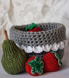 Polly kreativ: Wolleleien - Früchte gehäkelt