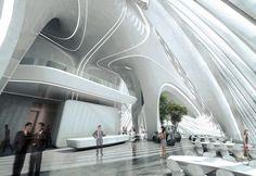 Zaha Hadid's Miami Tower rendering