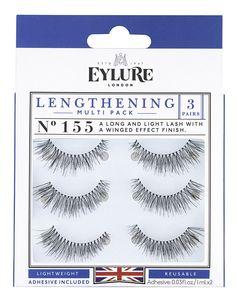 936d9f8a96c (Multi Pack- 3 Pairs) Eylure Naturalites 155 False Eyelashes, Black * Check