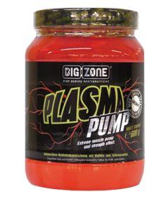BIG ZONE - Plasma Pump - 600g  Plasma Pump to rewolucyjny, nowoczesny, kompleksowy produkt przedtreningowy łączący w sobie związki, które podnoszą efektywność i jakość treningu sportowego.