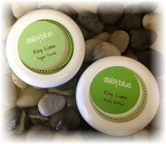 Scrumptious 100% natural Key Lime Body Butter and Key Lime Sugar Scrub!