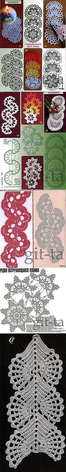 Tape lace. Selection ..
