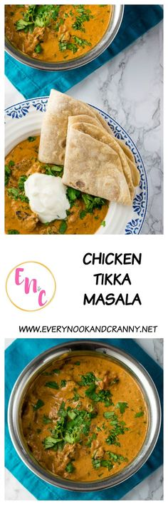 Proper chicken tikka masala, restaurant quality but made at home
