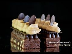 Nice Patrocinio shared a video Brownie Desserts, Fancy Desserts, Italian Desserts, Chef Recipes, My Recipes, Dessert Recipes, Brownies, Dessert Decoration, Chocolate Ice Cream