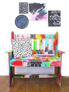 alisaburke: messy bench