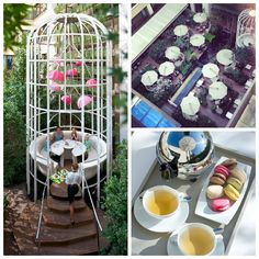 From special #cocktails to culinary delights, #spring has arrived in the garden at Mandarin Oriental, Paris!