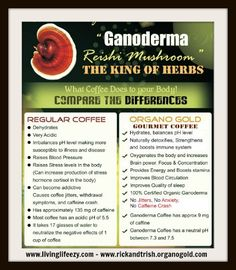 Benefits of Ganoderma Lucidum | Work From Home - Get Paid to Drink & Promote Healthy Coffee