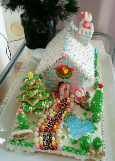 GINGERBREAD HOUSE~PINK & BLUE HOUSE~ヘクセンハウス