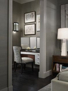Ultra Sophist - Mini office parceled off M. Bedroom (Design, Pictures, Remodel, Decor and Ideas - page 19)