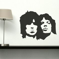 Large Rolling Stones Wall Stickers / Wall by WallStickersExtra, £19.99