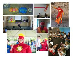 VBS Events in Chicago and Folsom, CA! Chicago Events, Vacation Bible School, Superhero, Children, Creative, Fun, Boys, Kids, Superheroes