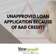 Unapproved loan