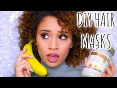 Get Rid of Frizzy Hair! 4 DIY Hair Masks/Treatments - #diyhair #masks #hairtutorial #diy