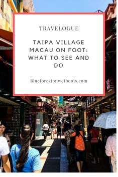 Taipa Village Macau is a quaint, centuries-old tourist destination in the middle of Macau's rising condominium, casinos and lifestyle hubs. Historical Landmarks, Historical Sites, Blue Forest, Macau, Travelogue, Walking Tour, Condominium, Us Travel, Touring