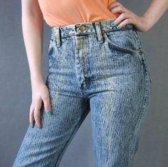 Pin Stripe Jeans!