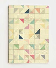 Triangles and Squares III als Notizheft von Metron | JUNIQE