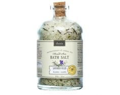 Lavender Relaxing Dead Sea Spa Organic Bath Salt (13 oz). Incredibly soothing and calming. Lavender is also used to ease headaches, help with insomnia, heal burns and wounds, and reduce high blood pressure. http://www.abesmarket.com/natural-products/personal-care/body-care/natural-bath-salts-and-oils/organic-bath-salt-relaxing-dead-sea-spa-lavender-13oz.html