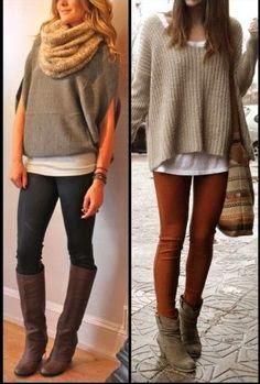 Adorable over sized ladies sweater fashion | Fashion World