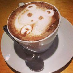 Panda hot chocolate