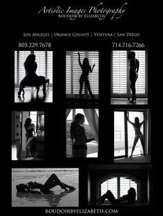 Black & White Boudoir Photography Poses | Boudoir by Elizabeth LA Area
