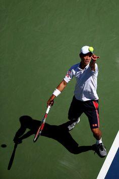 Kei Nishikori Photos - US Open: Day 4 - Zimbio