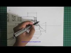 freehand perspective drawing