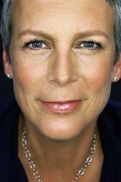 "One of the original, badass ""I'm going wear my hair short and you can kiss my a$$"" icons, Jamie Lee Curtis.  Thank you for proving short hair is sexy, Ms. Curtis!!"